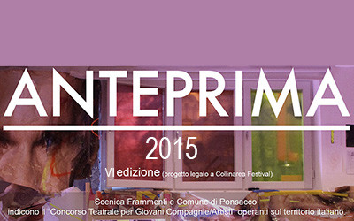 Bando di selezione Premio Anteprima 2015 (VI Edizione)
